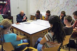 Jugendstunde mit Pfr. Scheipers