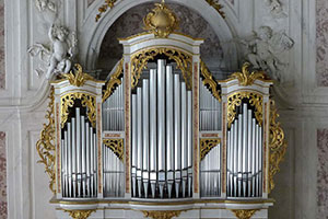 Orgel in der Schlosskapelle